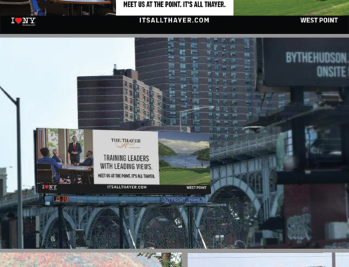It's All Thayer. The Historic Thayer Hotel Outdoor Campaign